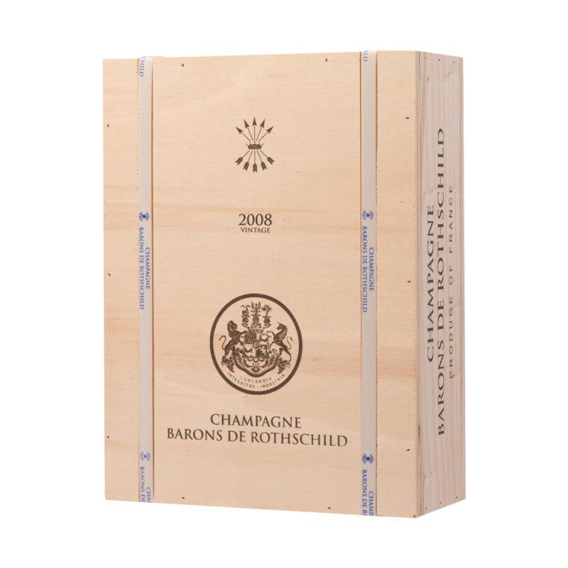 Vinum-s - Champagne Barons de Rothschild Blanc de Blancs 2008 - OWC3