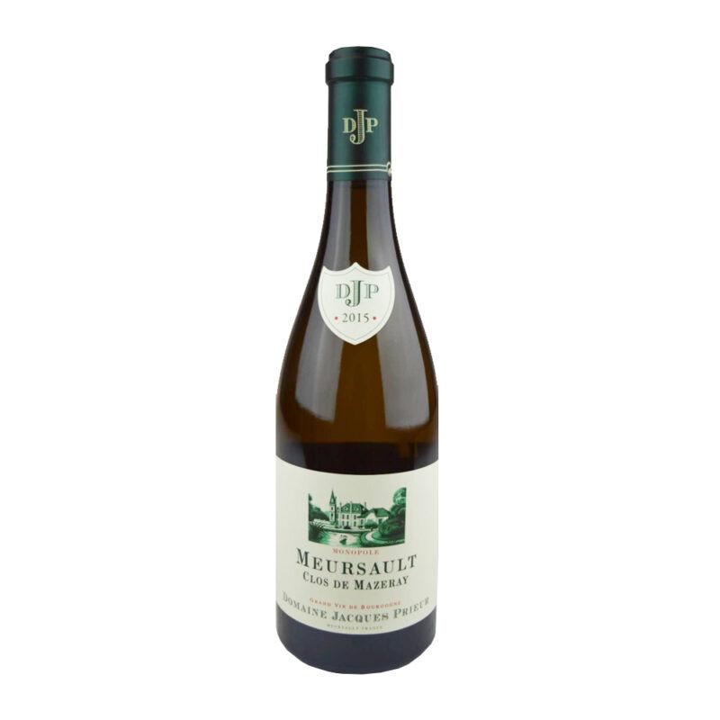 Vinum-s - Domaine Jacques Prieur Meursault Clos de Mazeray Blanc 2015