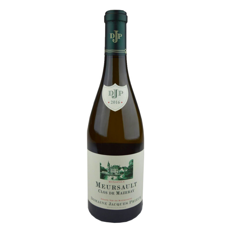 Vinum-s - Domaine Jacques Prieur Meursault Clos de Mazeray Blanc 2016